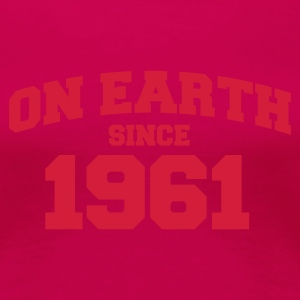 Light pink onearth1961 T-shirts - Dame premium T-shirt