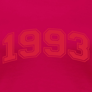 Light pink 1993 T-shirts - Dame premium T-shirt