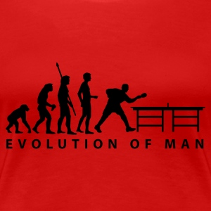 evolution_table_tennis_b Tee shirts - T-shirt Premium Femme
