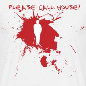 Please call house  - Männer T-Shirt