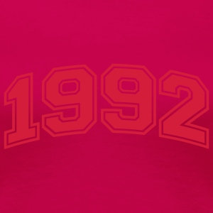 Light pink 1992 T-shirts - Vrouwen Premium T-shirt