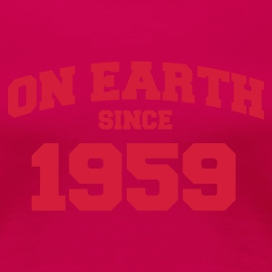 Light pink onearth1959 T-shirts - Dame premium T-shirt