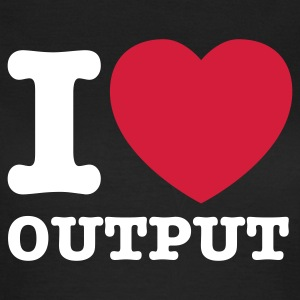Chocolate I love output © T-Shirts - Dame-T-shirt