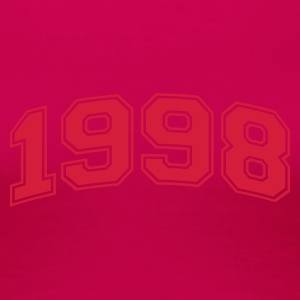 Light pink 1998 T-shirts - Vrouwen Premium T-shirt