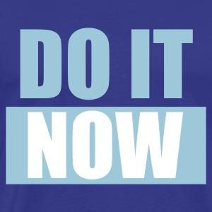 Divablau DO IT Now - eushirt.com T-Shirts - Männer Premium T-Shirt