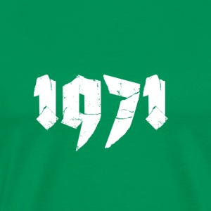 Kelly green Jahr 1971 Men's T-Shirts - Men's Premium T-Shirt