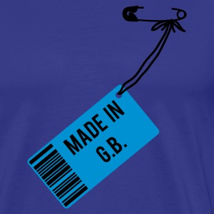 Sky Made in Great Britain T-Shirts - Männer Premium T-Shirt