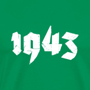 Kelly green Jahr 1943 Men's T-Shirts - Men's Premium T-Shirt