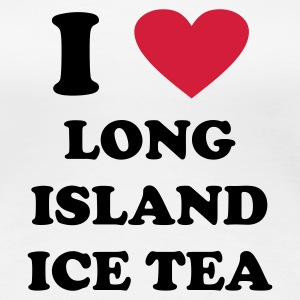 White i love long island ice tea Women's T-Shirts - Women's Premium T-Shirt