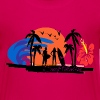 Surf Paradise - Teenage Premium T-Shirt