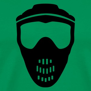 Moosgrün Paintball T-Shirts - Männer Premium T-Shirt