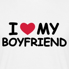 Sand I Love My Boyfriend T-Shirts