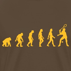 Edelbruin Squash Evolution (1c) T-shirts