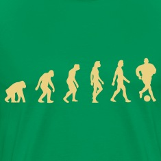Kakigroen Football Soccer Evolution (1c) T-shirts