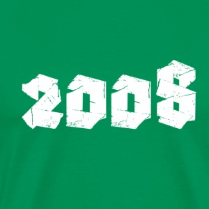 Kelly green Jahr 2008 Men's T-Shirts - Men's Premium T-Shirt
