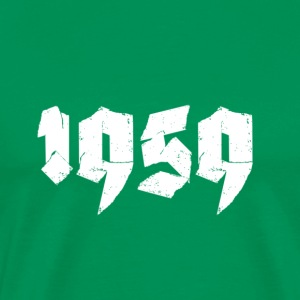 Kelly green Jahr 1959 Men's T-Shirts - Men's Premium T-Shirt