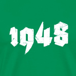 Kelly green Jahr 1948 Men's T-Shirts - Men's Premium T-Shirt