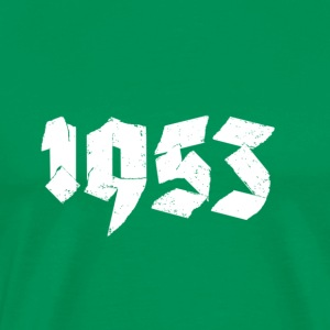 Kelly green Jahr 1953 Men's T-Shirts - Men's Premium T-Shirt