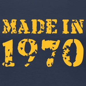 Jeansblau Made in 1970 T-Shirts - Frauen Premium T-Shirt