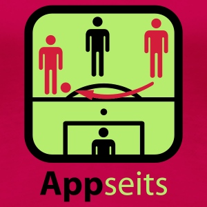 Pink Appseits © T-Shirts - Dame premium T-shirt