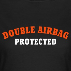 Chocolate DOUBLE AIRBAG PROTECTED © T-Shirts