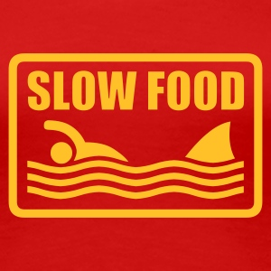 slow food T-Shirts - Vrouwen Premium T-shirt