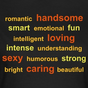tag cloud - Frauen T-Shirt