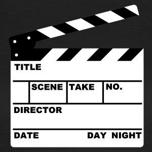 clapperboard - Camiseta mujer