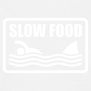 slow food T-Shirts - Men's T-Shirt