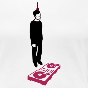 hang the dj (2-3 color)  - Premium-T-shirt dam