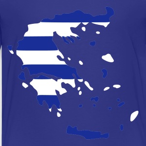 Türkis Greece Kinder T-Shirts - Teenage Premium T-Shirt