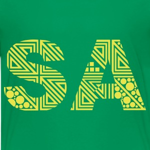 Kelly green South Africa - Saturday - SA Kids' Shirts - Teenage Premium T-Shirt