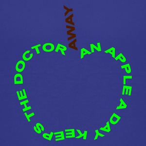 an apple a day keeps the doctor away - Teenage Premium T-Shirt