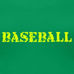 Kelly green Baseball T-Shirts - Frauen Premium T-Shirt