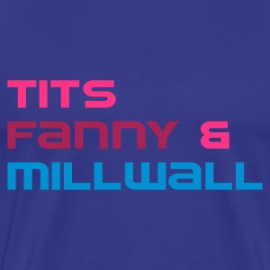 Millwall Fan Shirt Male - Men's Premium T-Shirt
