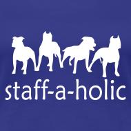 Design ~ Womens 'Staff-a-holic' T-Shirt