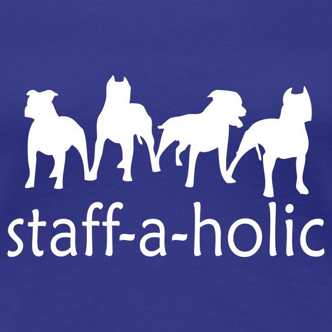 Womens 'Staff-a-holic' T-Shirt