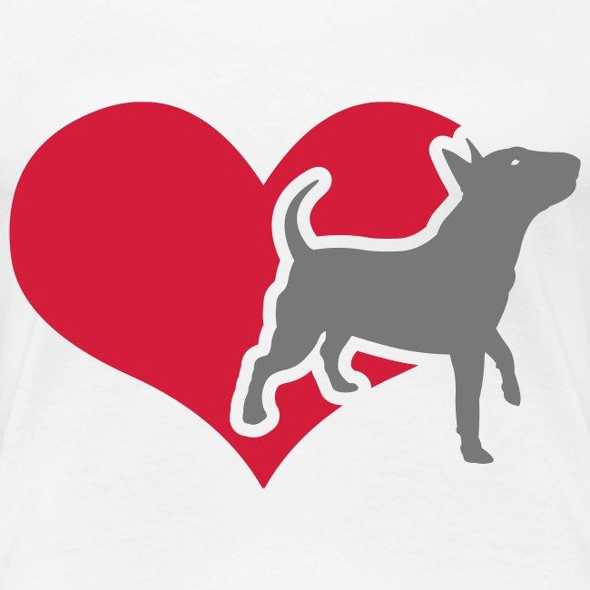 Womens Bully Heart T-Shirt