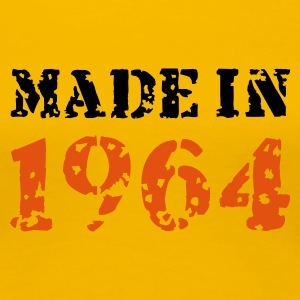 Gelb Made in 1964 T-Shirts - Frauen Premium T-Shirt
