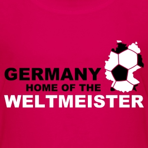 germany home of the weltmeister - Teenage Premium T-Shirt