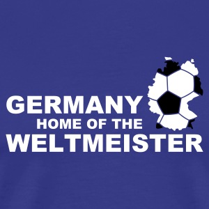 Divablau germany home of the weltmeister 2 T-Shirts - Männer Premium T-Shirt