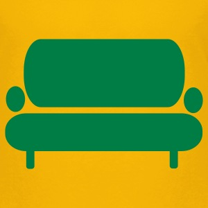 Gelb Sofa – Couch Kinder T-Shirts - Teenager Premium T-Shirt