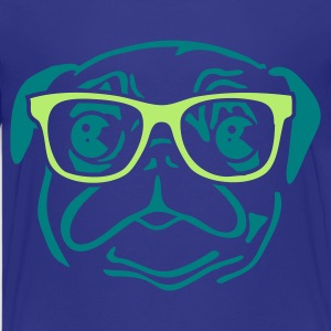 Cyan nerd_mops Kids' Shirts - Teenage Premium T-Shirt