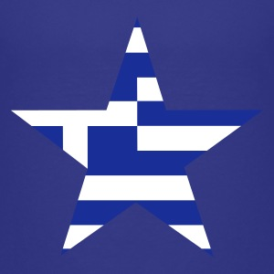 Turkos greece_star Barn-T-shirts - Premium-T-shirt tonåring