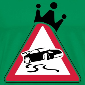 Drift King - Männer Premium T-Shirt