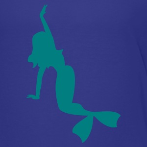 Cyan Meerjungfrau / mermaid (1c) Kids' Shirts - Teenage Premium T-Shirt