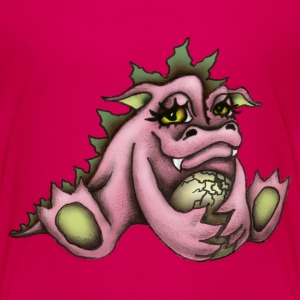 Pink dragon T-shirt - Teenage Premium T-Shirt