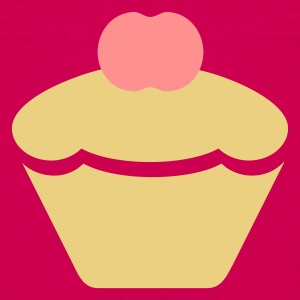 Pink Muffin / cup cake (2c) Kids' Shirts - Teenage Premium T-Shirt