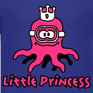 little_princess_octopuss_3c Camisetas - Camiseta premium adolescente