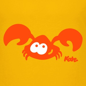 Yellow Crab (2c) Kids' Shirts - Teenage Premium T-Shirt